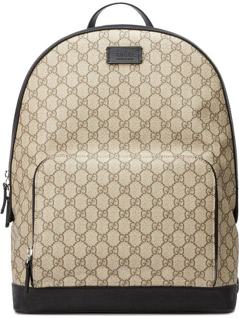 2d0e21b5fc60 GUCCI Gg Supreme Backpack.  gucci  bags  lining  canvas  nylon  backpacks   suede