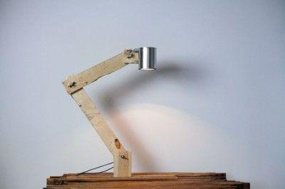 Lampade Da Tavolo Maison Du Monde : Come costruire una lampada da tavolo con flexo oggetti riciclati