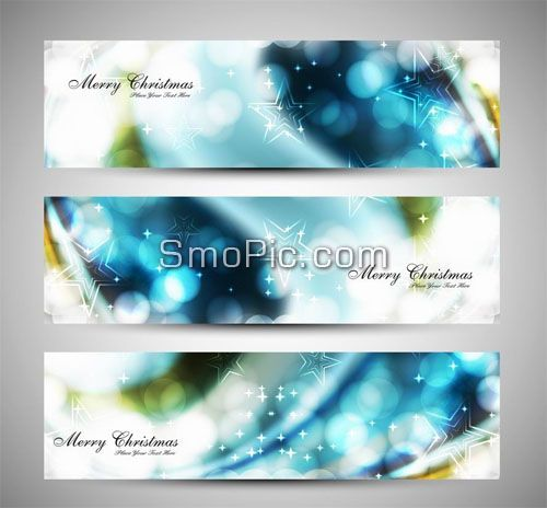 Dot star vector dynamic website banners advertising background ...