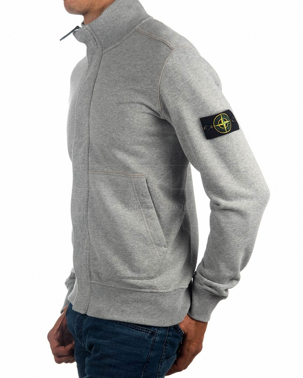 01445fd814 Stone Island Full Zip Sweatshirt - Blue Inchiostro 561620