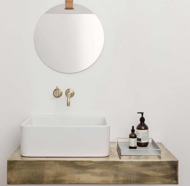 Tricks für Mini-Badezimmer Aufgeräumt Ordnung schaffen im - körbe für badezimmer