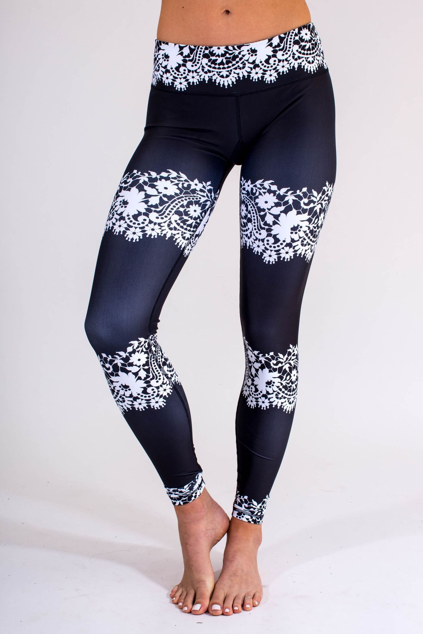 Black Lace Leggings | Black laces, Shopping and Clothes