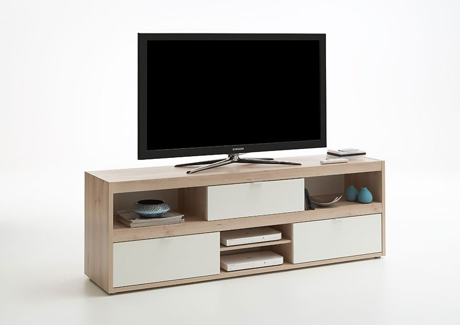 meuble tv style scandinave couleur bois et blanc sweden apparte perso pinterest meuble tv. Black Bedroom Furniture Sets. Home Design Ideas