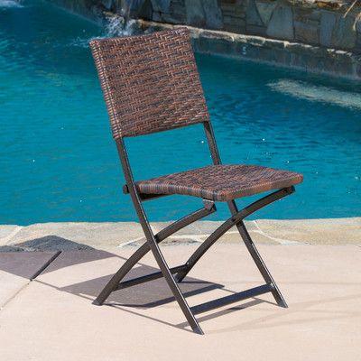 Holiday Choice Kapteyn Folding Side Chair Set Of 2 By Mercury
