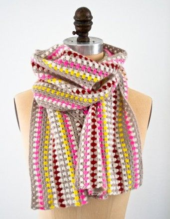 Granny Stripe Scarf The Purl Bee Keep Going And Its A Baby
