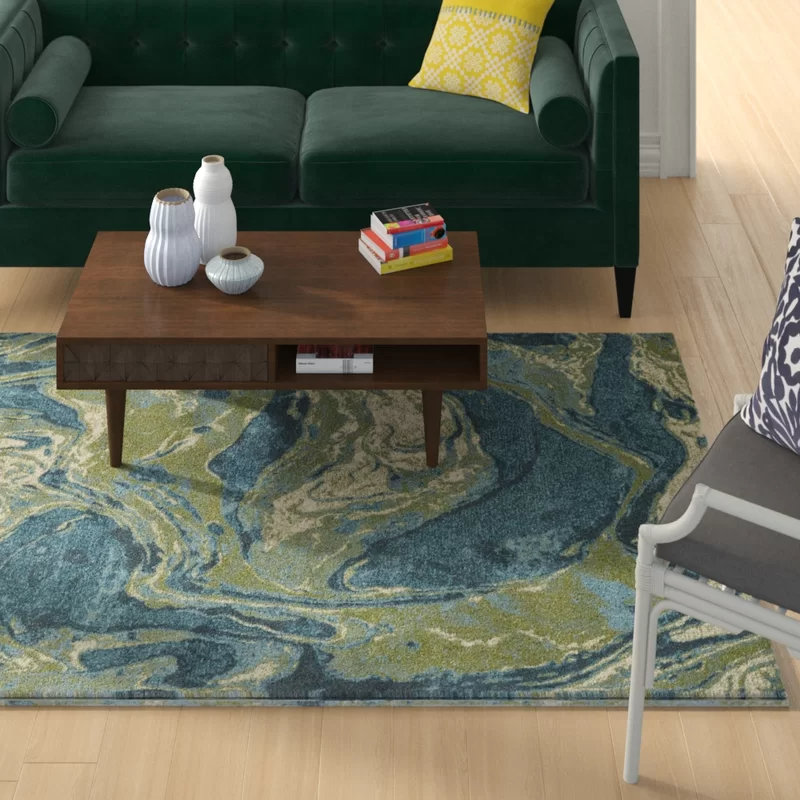 Strouth Palette Teal Area Rug Black Area Rugs Area Rugs Blue Area Rugs