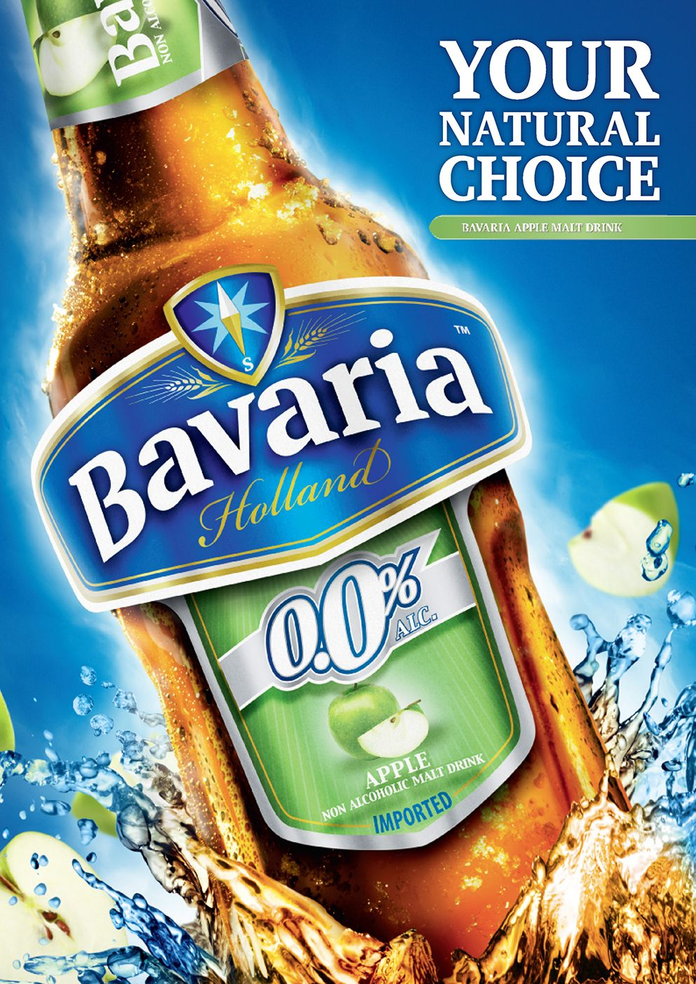 Bavaria non alcoholic beer your natural choice in apple