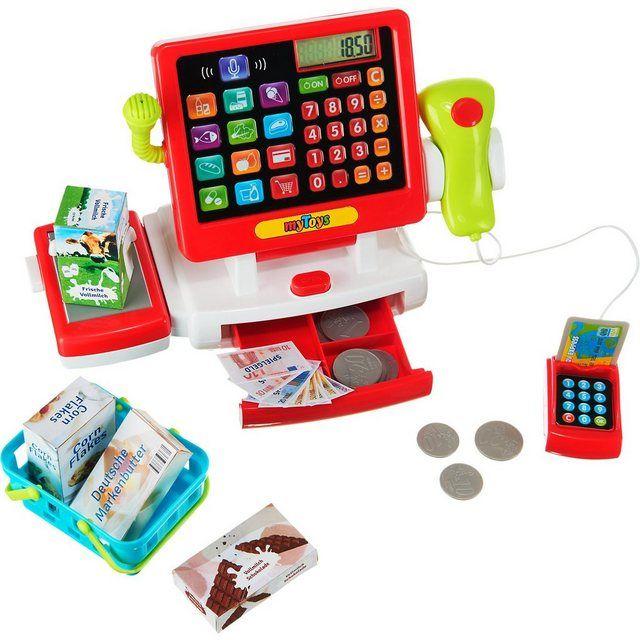 Supermarktkasse mit Touchscreen inkl. Zubehör