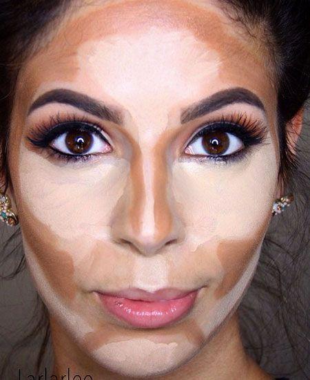 How to contour like a Kardashian - www.dropdeadgorgeousdaily.com/