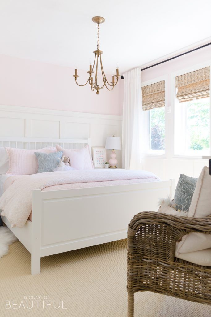 Sweet Pink and White Little Girl's Bedroom images