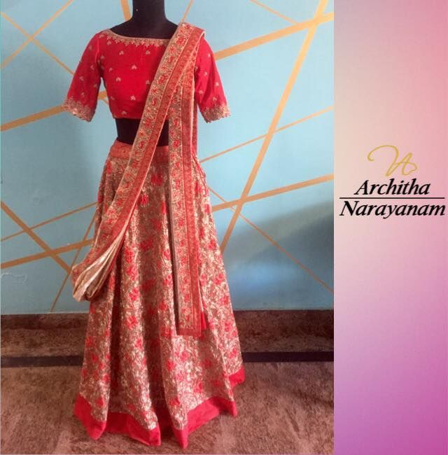 A beautiful master piece from our kaasika bazaar collection for our beautiful bride!!