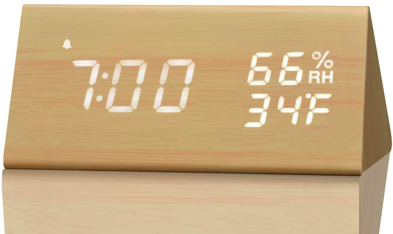 Updated in 2019 from dual alarms to three alarms. You can either set two or three alarms to better WAKE you up #mandalabookcase #decorhomeideas #homedesign #livingroomdesign