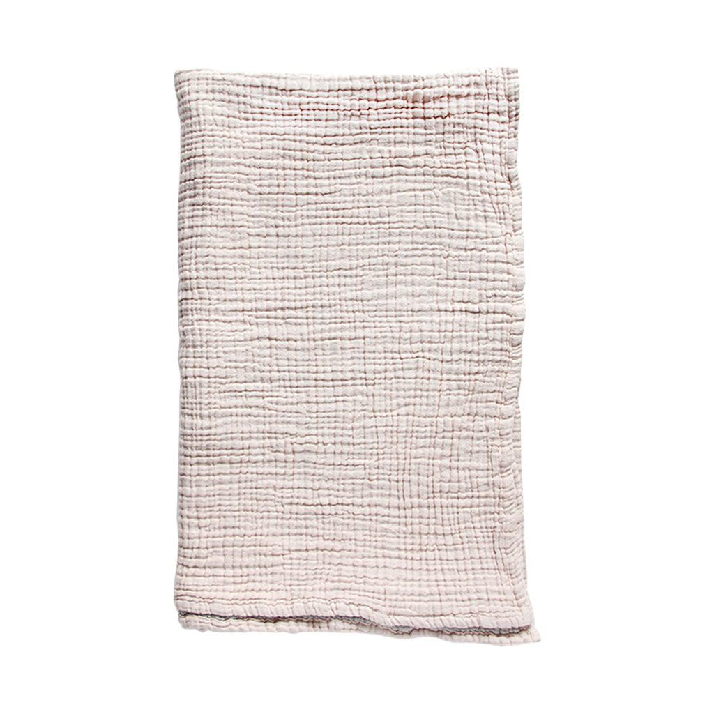 Waffle Throw Blanket Blush / Grey (With images) Throw