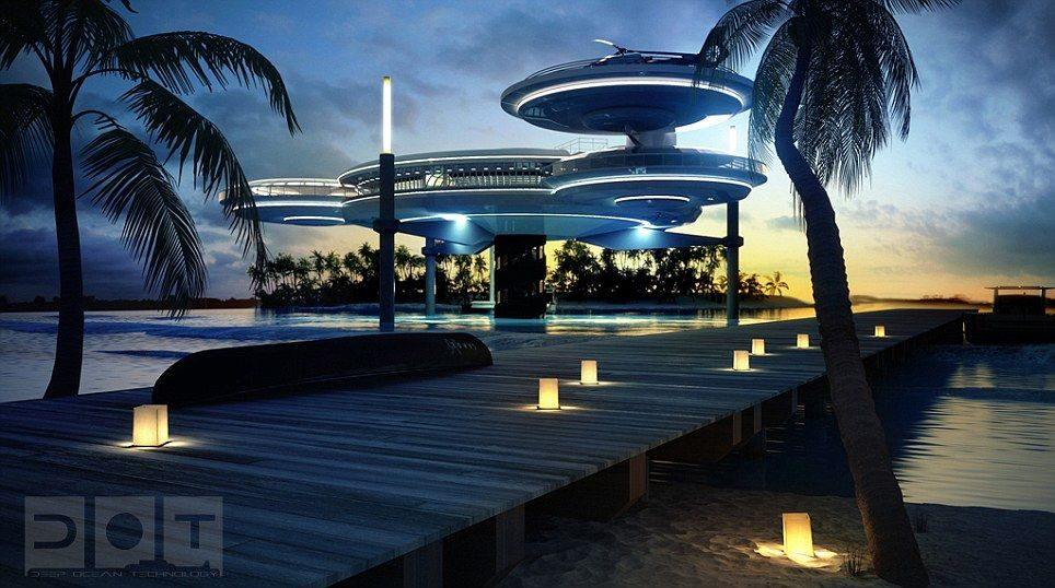 Dubai Tropical Paradise The Hotel Which Will Have 21 Rooms Is Set