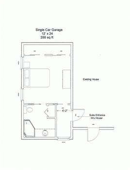 The In Law Suite Garage Floor Plans Garage Bedroom Garage Bedroom Conversion