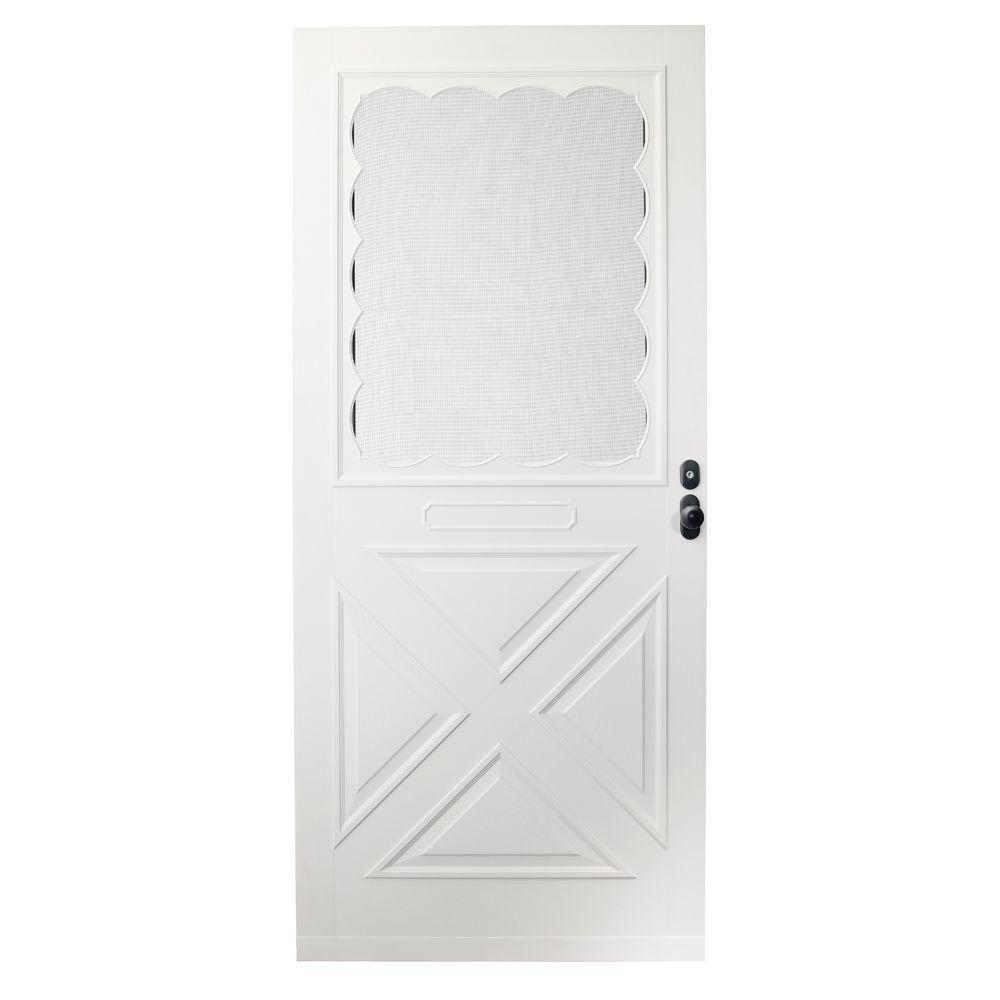 Emco 36 In X 80 In Forever White Universal Store In Door