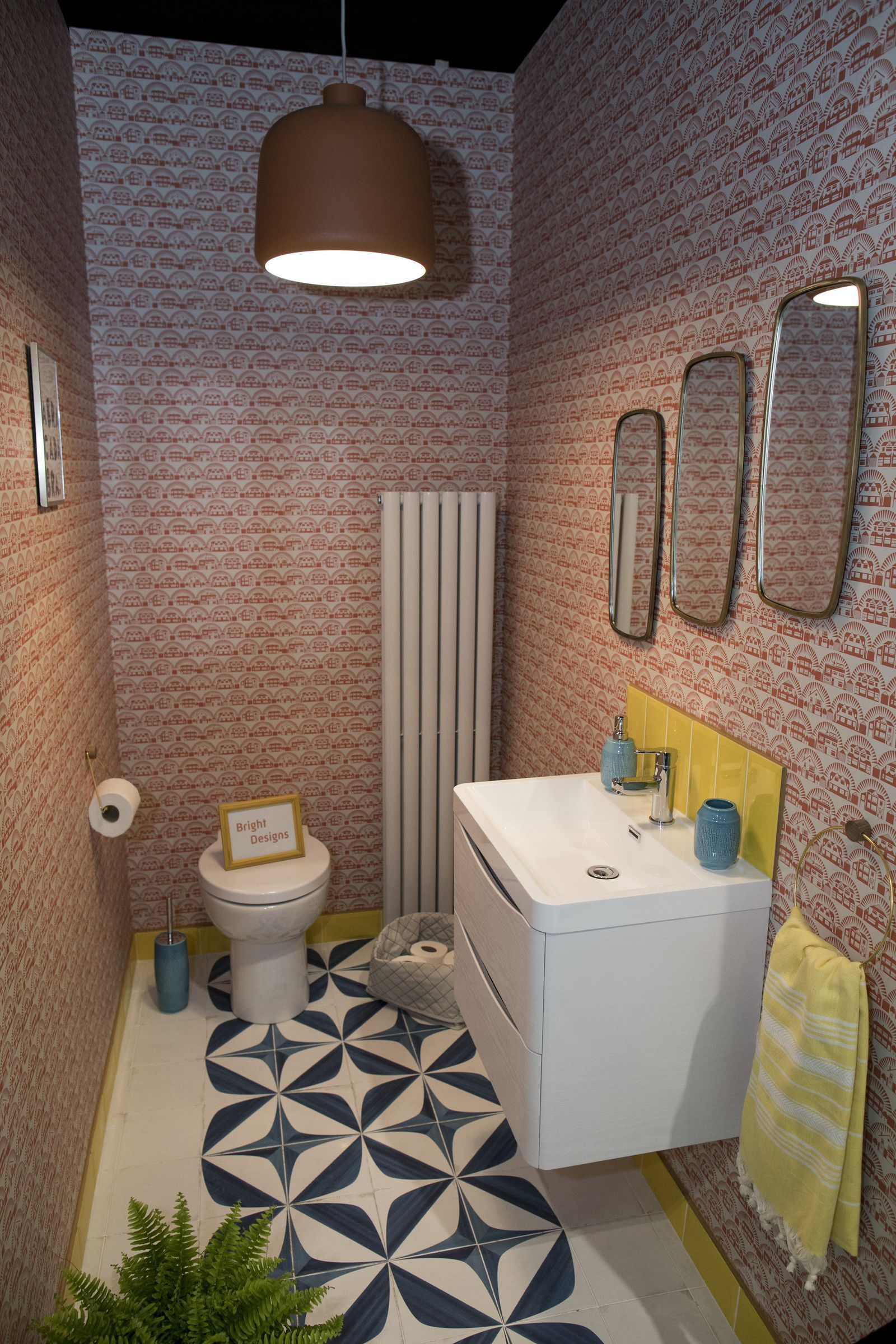 3 bold and quirky downstairs toilet design ideas  Quirky bathroom