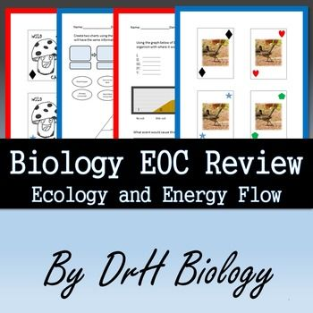 Biology EOC Review - Ecology and Energy Flow   Biology, Food ...