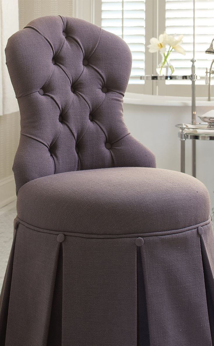 From The Button Tufted Louis Style Chair Back To A Gracefully