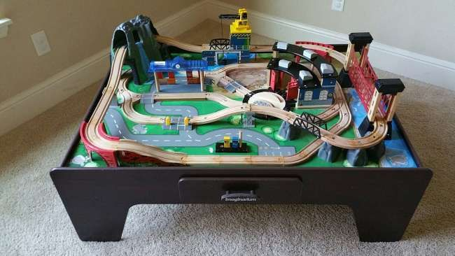 Image result for imaginarium train table track layout | kids room ...