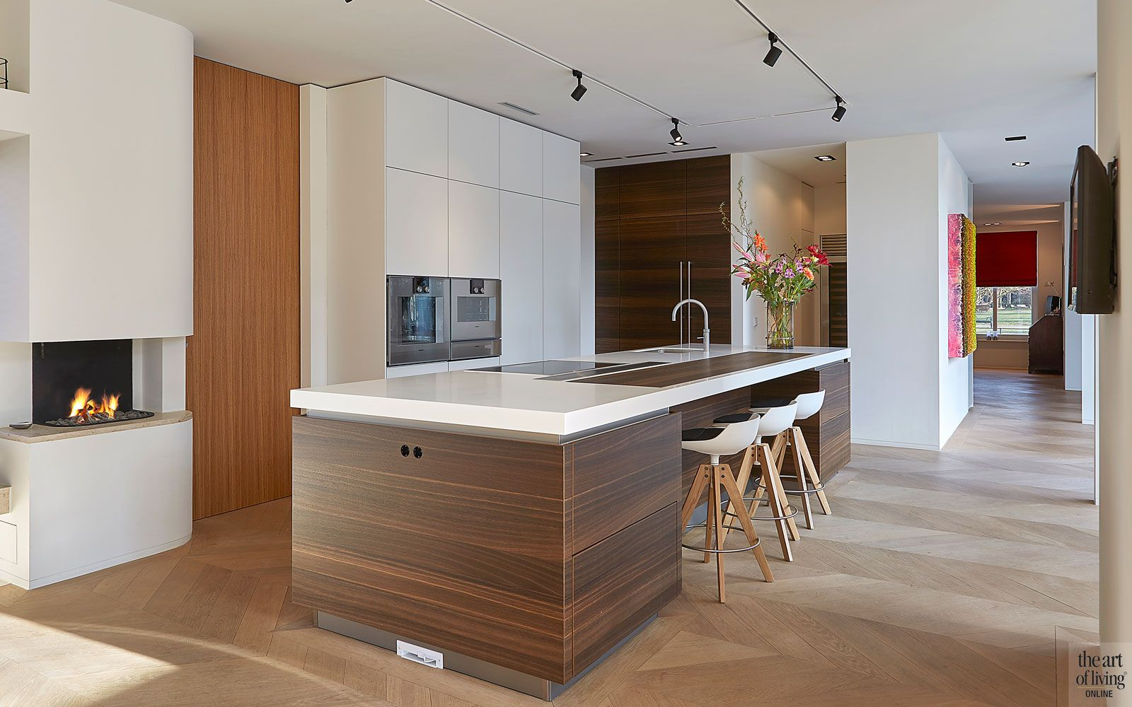 Eigentijds De Bever Architecten In 2020 Kruk Keuken Hedendaagse Woningen Keukens