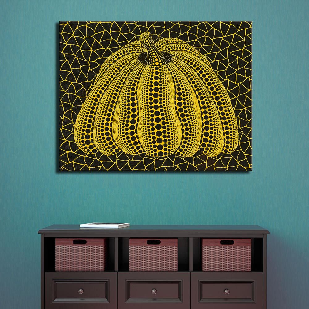Aliexpress.com : Buy NO FRAME HUGE Yayoi Kusama PUMPKIN ARTS Printed ...