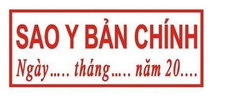 CÔNG TY BABYLON CHUYÊN KHẮC  CÁC LOẠI CON DẤU THEO YÊU CẦU TẠI TP HỒ CHÍ MINH  Chuyên khắc dấu Chứng thực bản sao đúng với bản chính  tại TP Hồ Chí Minh  GIẢM 30%  www.khacdau.net   EmaiL: info@babylon.vn    0932225678 - 0972226336