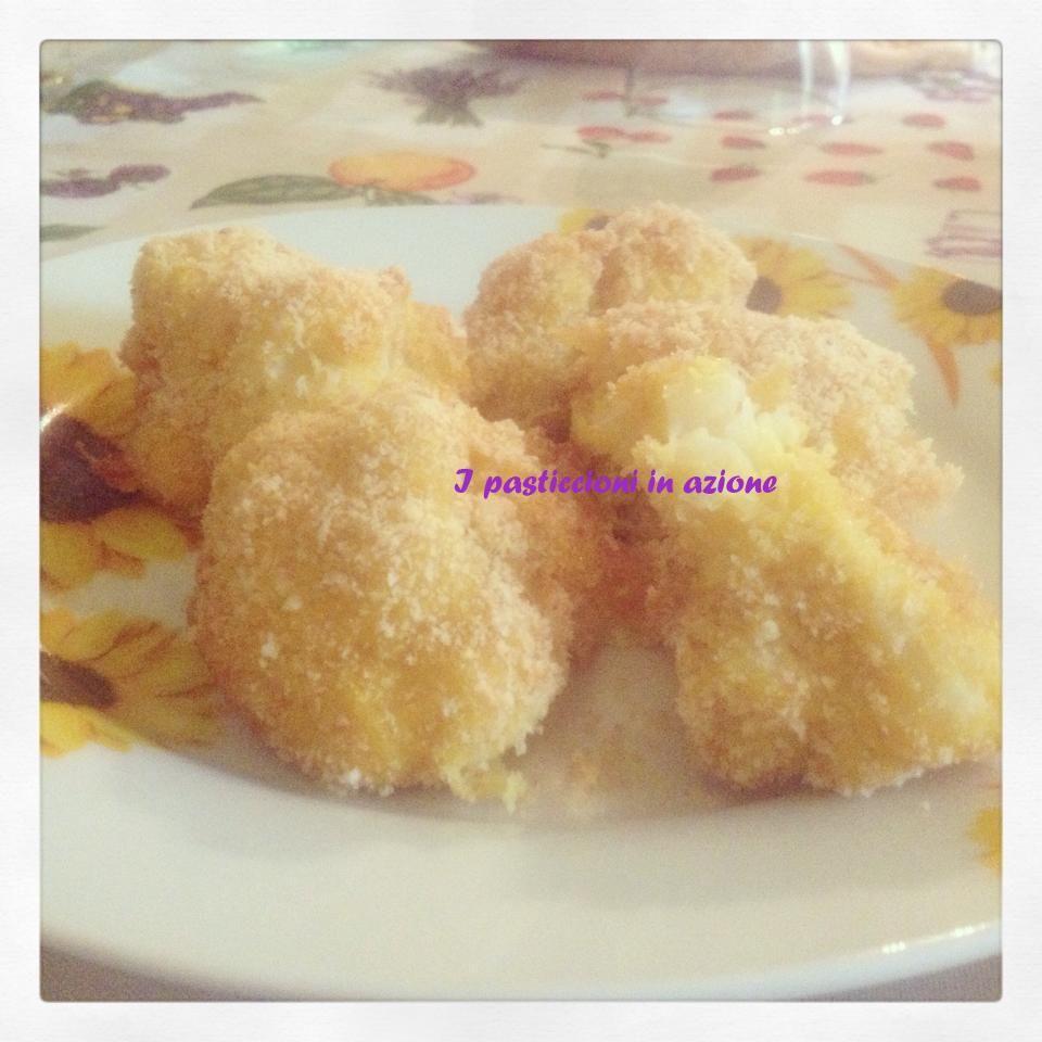 #Cavolfiore #impanato al forno #ipasticcioniinazione