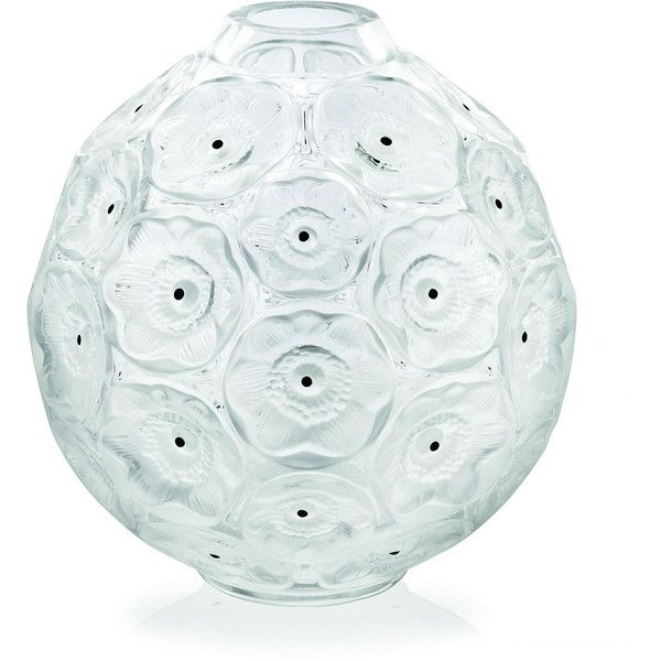 Lalique Clear Anemones Bud Vase 1 115 Aud Liked On Polyvore