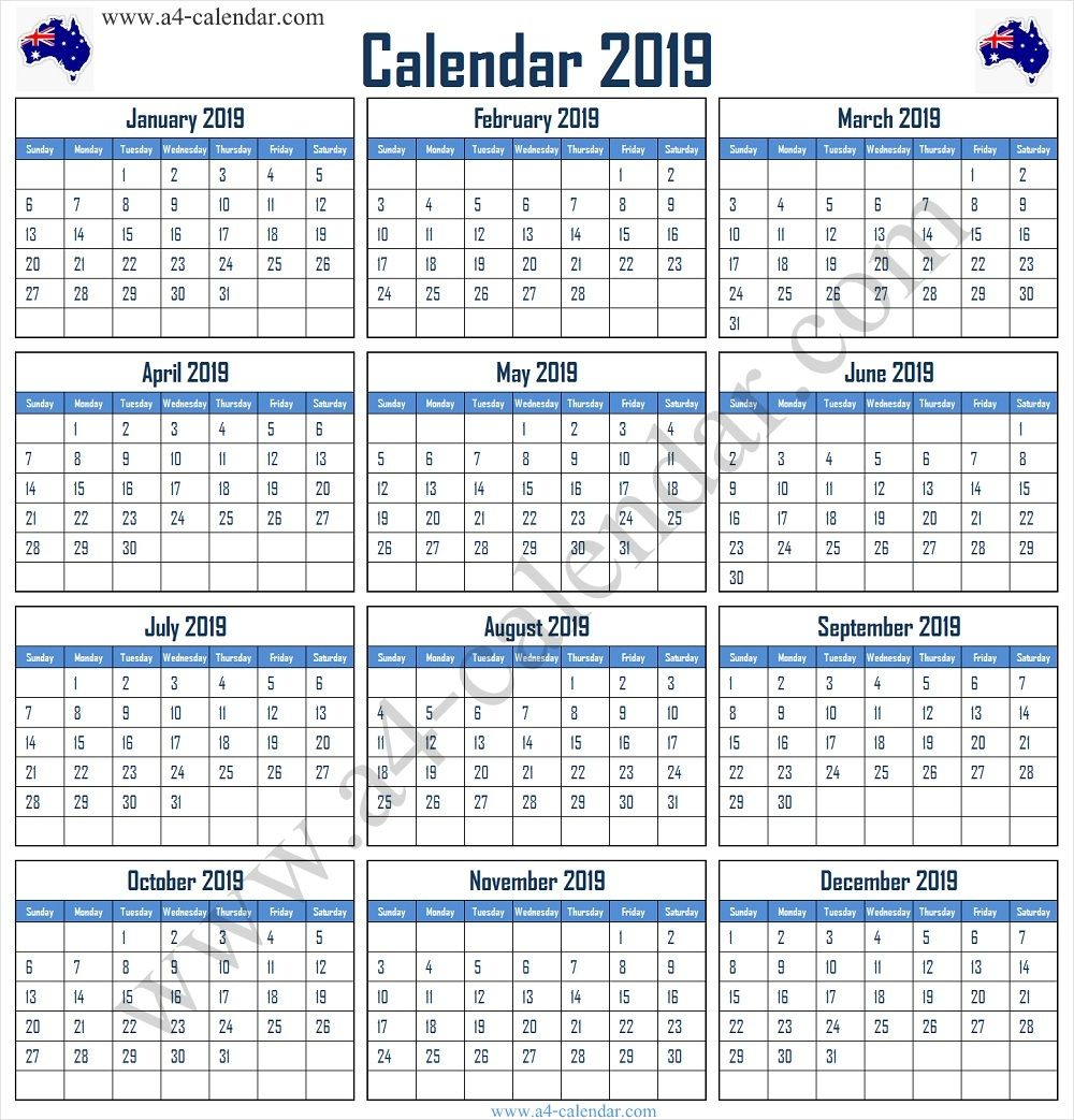20+ 2022 Calendar Australia - Free Download Printable ...
