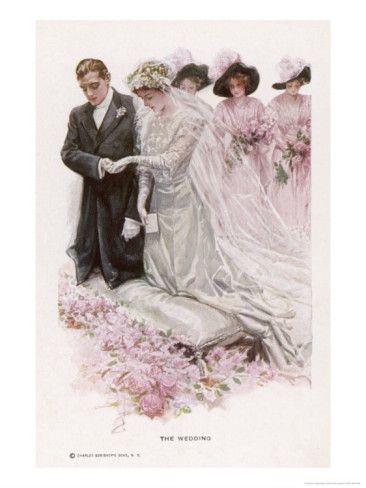 The Wedding Ceremony - Harrison Fisher