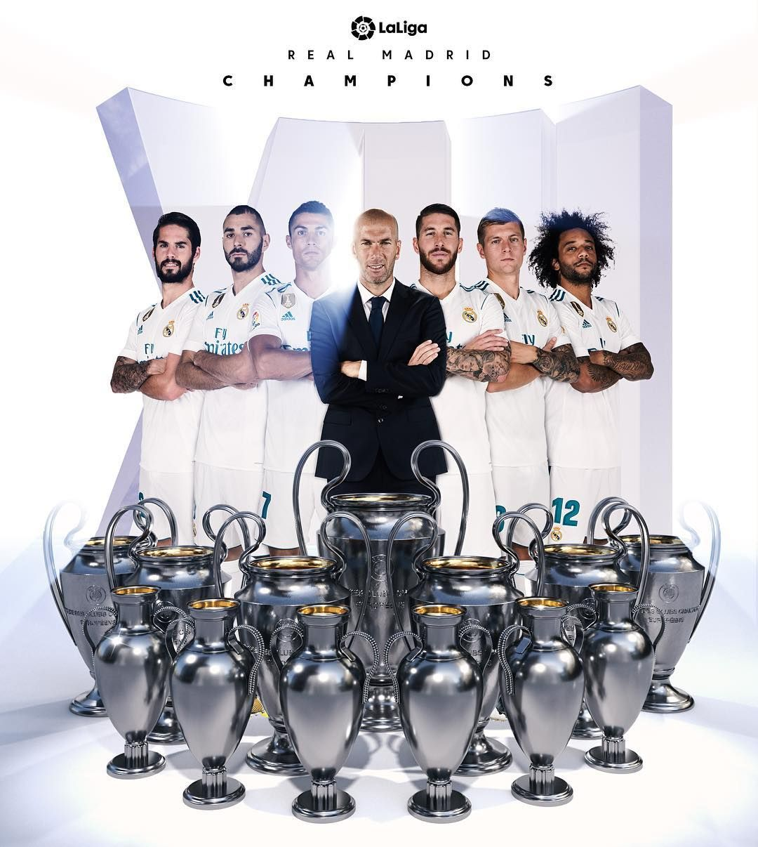 Realmadrid Win Their 1 3 Th Champions League Title Congratulations Realmadrid Uclfinal History Fo Real Madrid Team Real Madrid Club Champions League