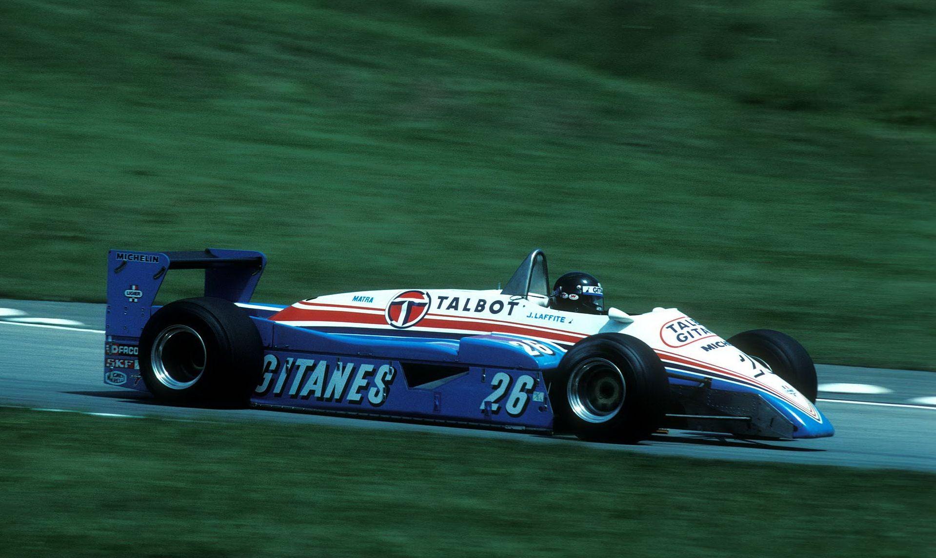 1982, Jacques Laffite, Ligier JS19Matra フォーミュラカー, グランプリ