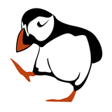 Puffin Graphic £5.50-£9.50  #bird #sea #gifts #travel