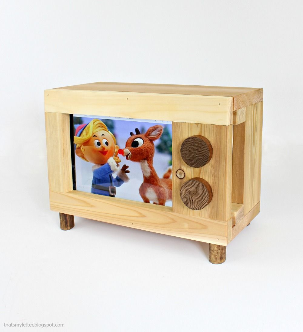 Ana white tablet or ipad holder retro tv style diy projects
