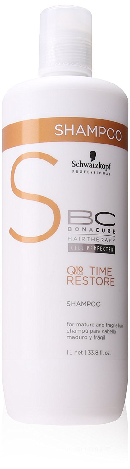 Schwarzkopf BC Bonacure Q10 Time Restore Shampoo 33.8 oz / Liter -- You can get additional details at the image link.
