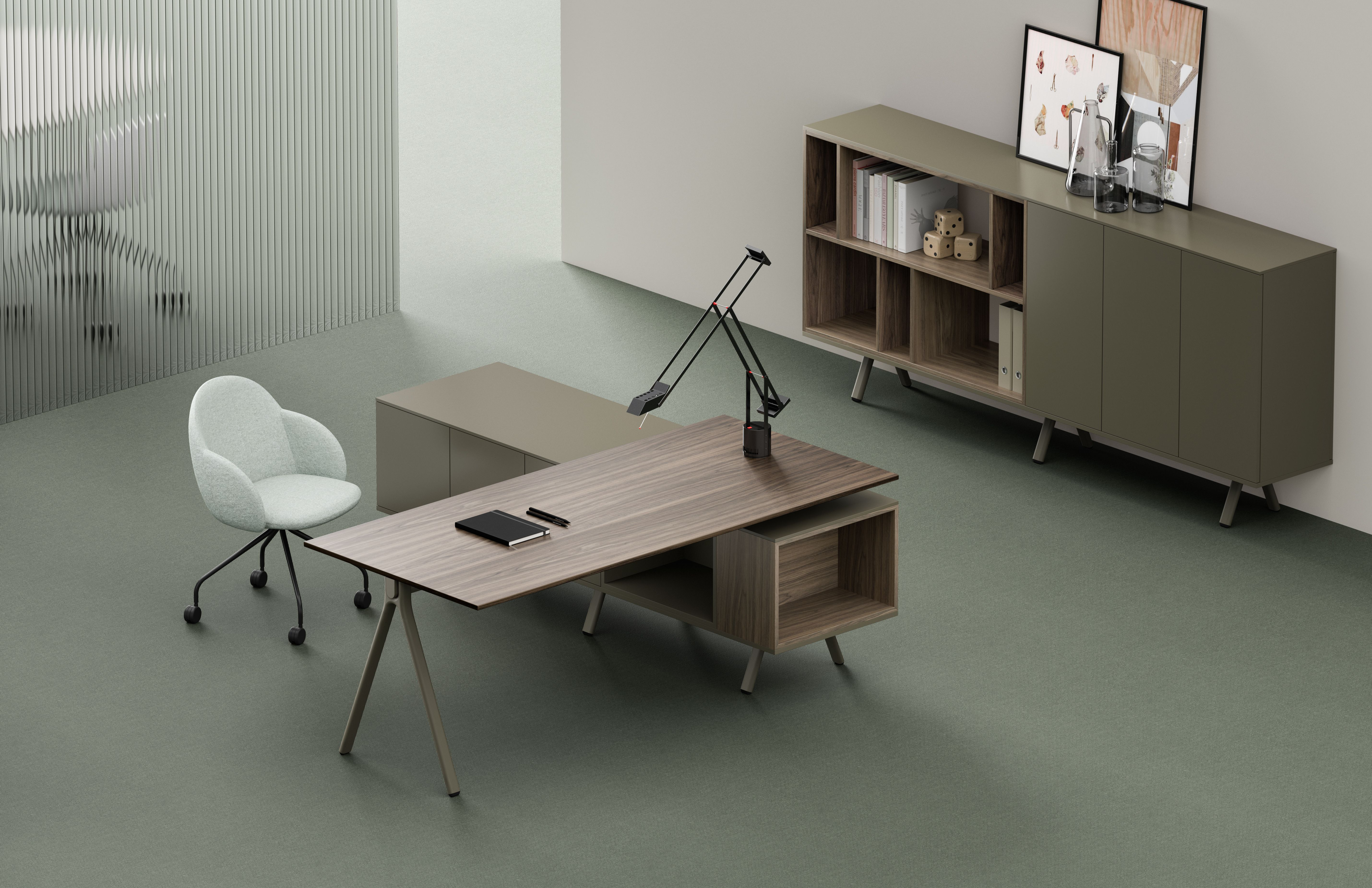 Archiutti Mobili Per Ufficio.Formal Neatness And Functional Elegance Lay Is Executive