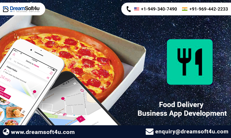 DreamSoft4U Pvt. Ltd. provides Best Food Delivery Business