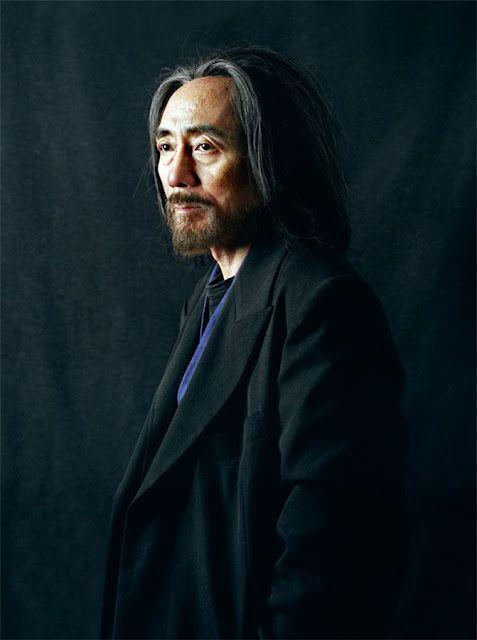 Yohji Yamamoto by Pierre Gonnord