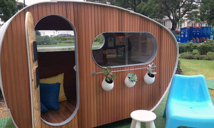 Charity Group Kids Under Cover Is Auctioning Cubby Houses This Month To  Raise Money For Their Work. The Cubbies Come From Talented Designers And  Builders ...