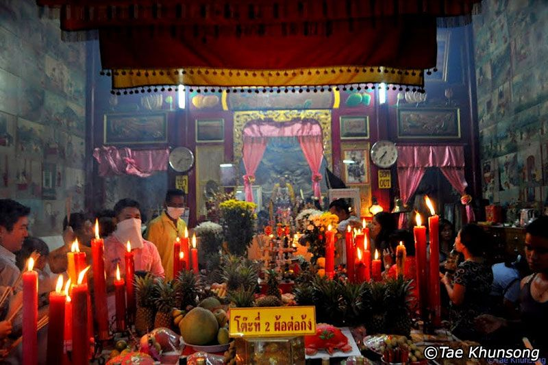 Por Tor Festival. Drive around Phuket Town and look for small temples. They are unassuming, yet gems.