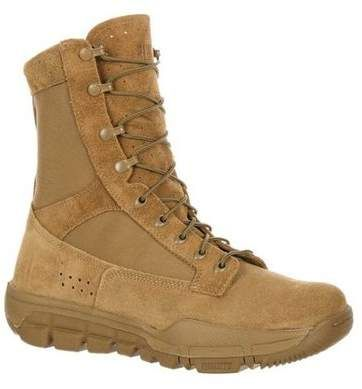Rocky Tactical Boot Men Lightweight Commercial Coyote Brown Rkc042 Products In 2019 Boots Shoe Boots Shoes