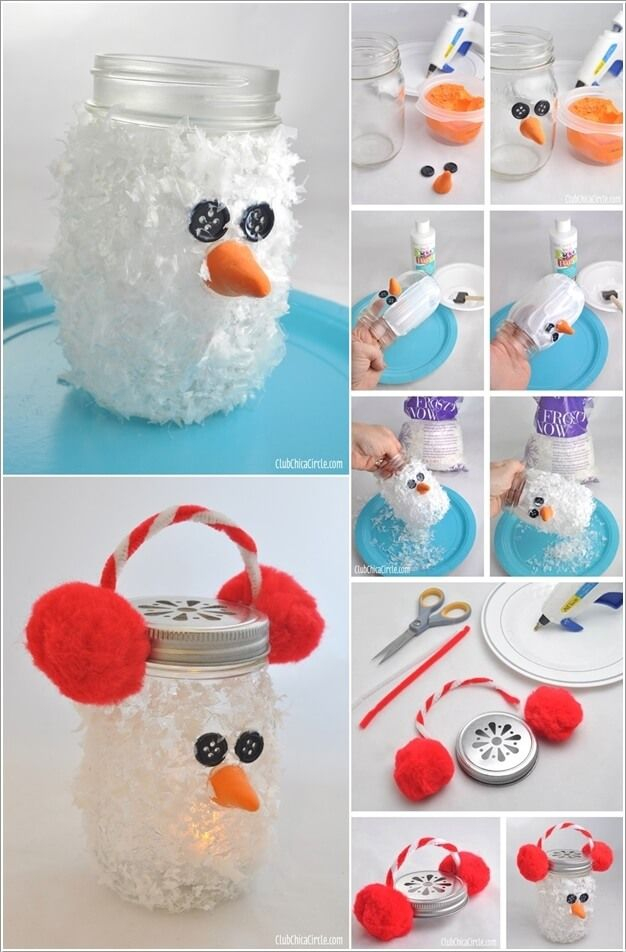 How To Make A Snowman Part - 20: Make A Snowman From No Snow Materials This Winter 5