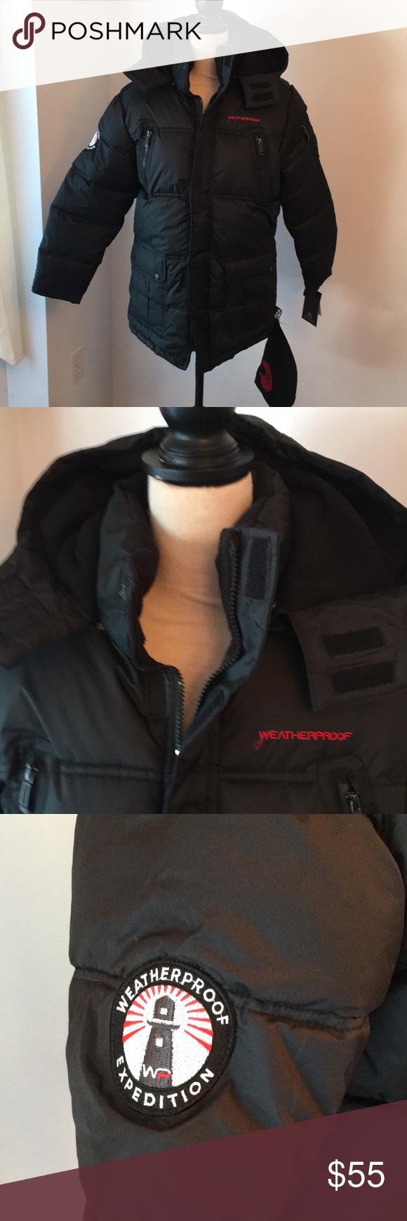 Nwt Weatherproof Boys 14 16 Large Jacket Hp Weatherproof Jacket Clothes Design Jackets [ 1740 x 580 Pixel ]