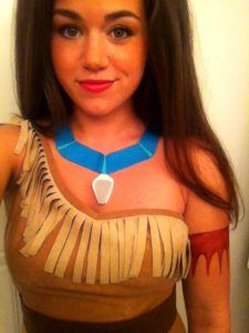 Lots Of Inspiration Diy Makeup Tutorials And All Accessories You Need To Create Your Own DIY Pocahontas Costume For Halloween