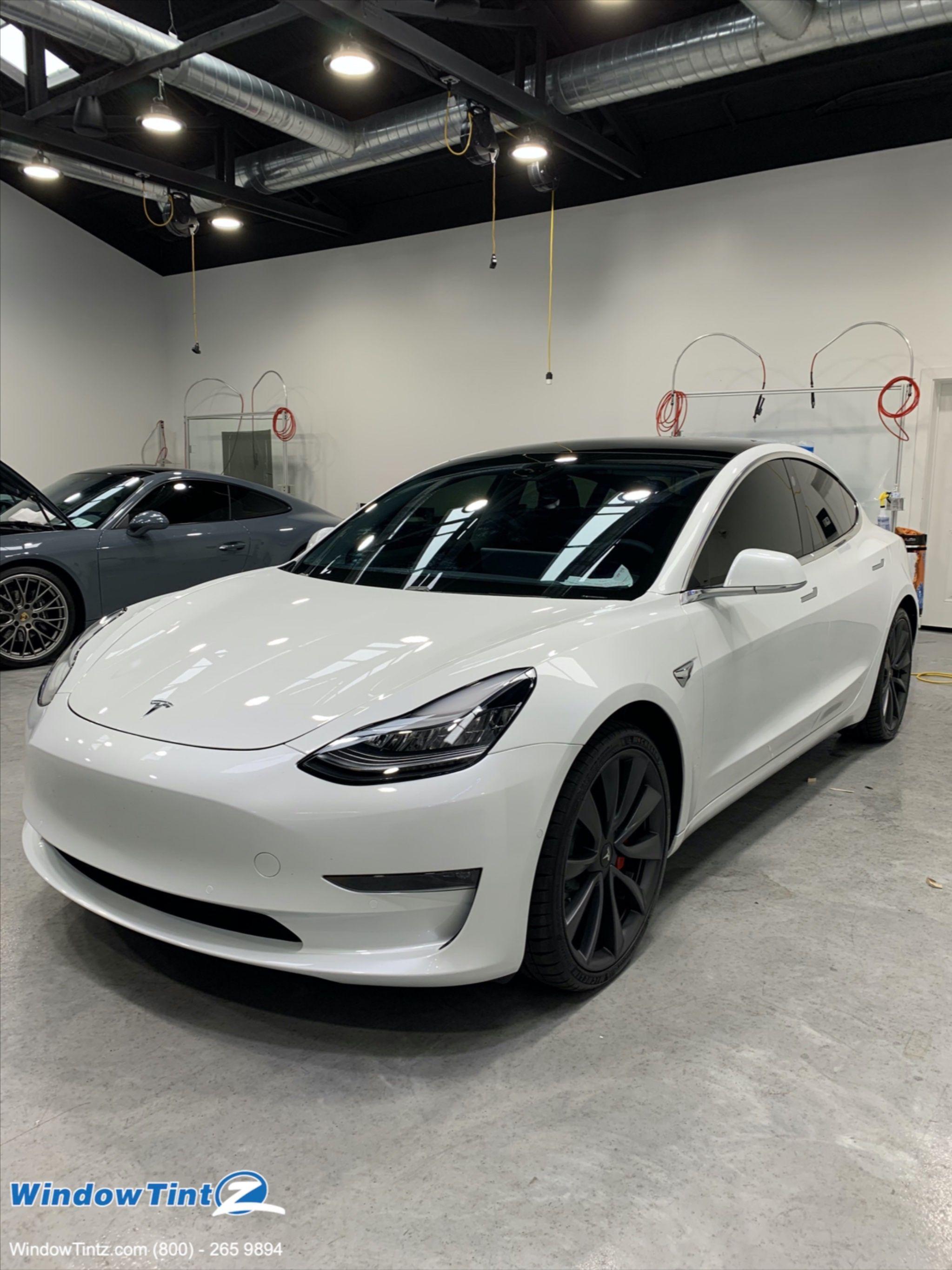 Tesla Model 3 Window Tint 35
