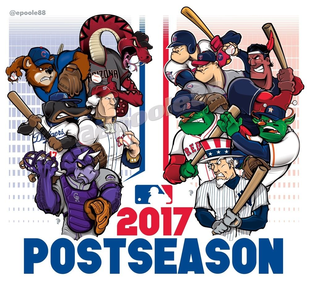 Mlb Playoffs Are Set October Baseball Is The Best Baseball Mlb Team Logos Baseball Playoffs Mlb Teams