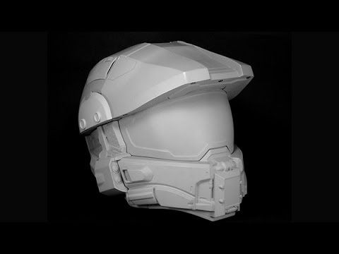 Official Halo Master Chief Motorcycle Helmet