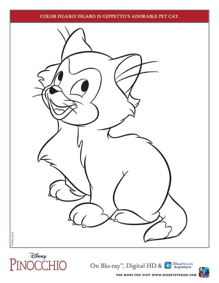 Pinocchio Coloring Pages And Activity Sheets Free Printables Disney Coloring Pages Coloring Pages Disney Colors