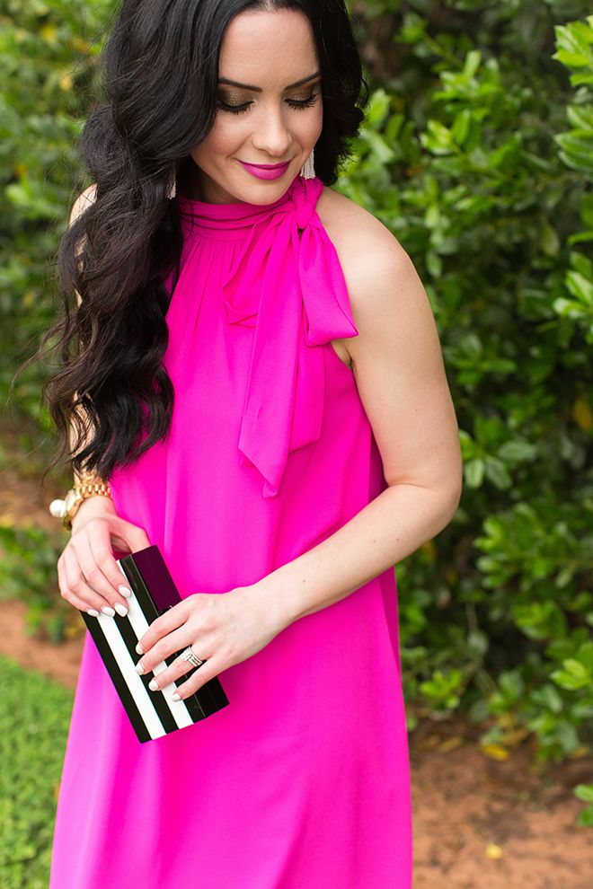 Hot Pink + Floral   Summer Event Ready With Cece At Dillard\'s   My ...